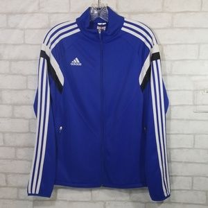 Adidas blue climacool zip up size M